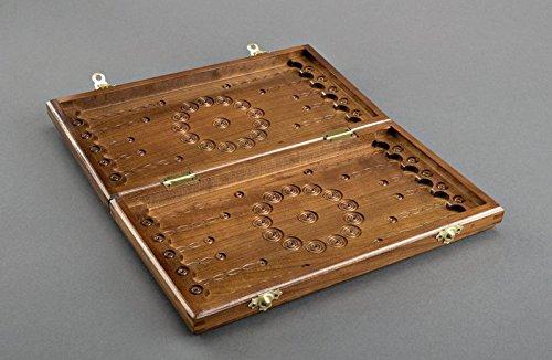 Wooden handmade carved backgammon best gift ideas for men