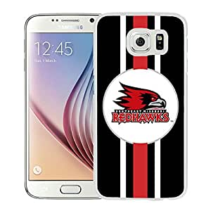 NCAA southeast missouri state Redhawks 5 White Hard Shell Phone Case For Samsung Galaxy S6