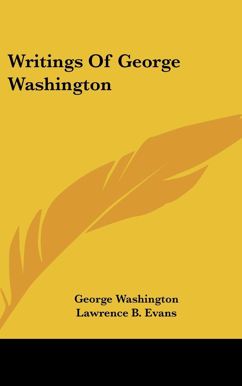 Writings Of George Washington pdf epub