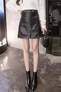 28abbea00 Amazon.com : 2018 Winter new Korean fashion Slim was thin waist ...