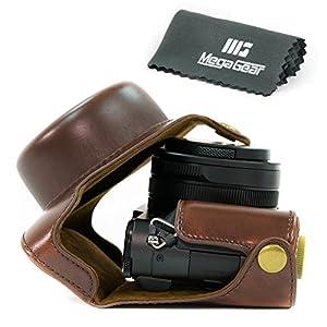 "MegaGear ""Ever Ready"" Protective Leather Camera Case, Bag for Panasonic LUMIX LX100 Camera"