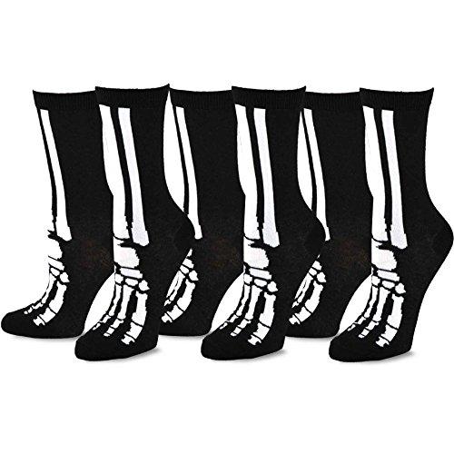 Skeleton Feet Socks