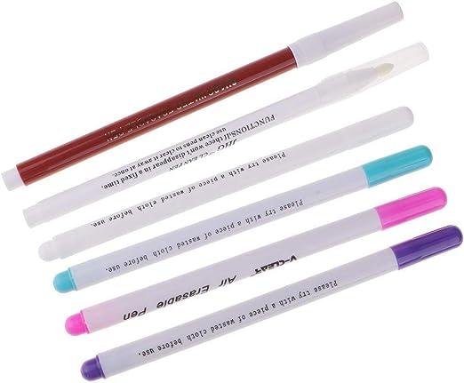 Wasserlösliche Stift Luft löschbare Marker Pen Stoff Nähen mit zwei