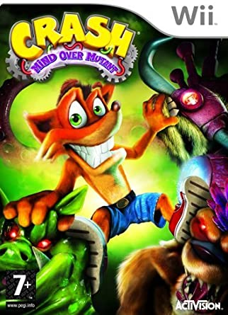 Crash Bandicoot: Mind Over Mutant (Wii) by Activision Blizzard ...