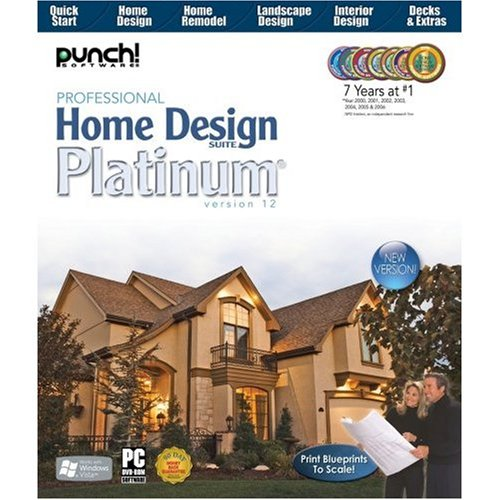Punch professional home design platinum v12 - Home design