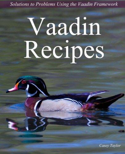 Vaadin Recipes