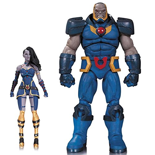 DC Collectibles Darkseid and Grail Action Figure (2 Pack)