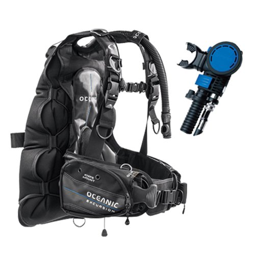 Oceanic QRL4 Excursion BCD with Air XS Integrated Octopus - Medium