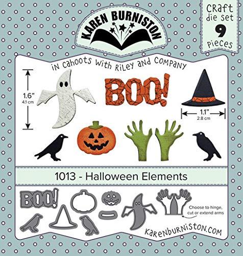 KB Riley 1013 Karen Burniston Dies-Halloween Elements ()