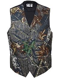 Camouflage Vest & Tie