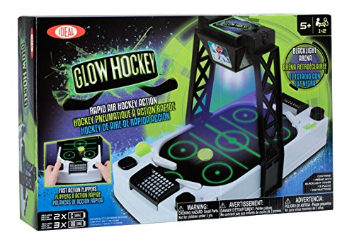 Ideal Glow Hockey Air Hockey Table (Air Hockey Table Glow In The Dark)