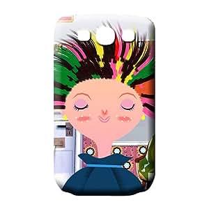 samsung galaxy s3 phone skins PC Shock-dirt Durable phone Cases hair style