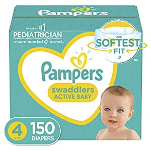 Diapers Size 4, 150 Count –...