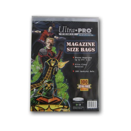 (Ultra Pro Magazine Size Bags 8 5/8 by Ultra Pro)