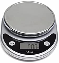 Proudly selected by the Dana Farber Cancer Institute for a Harvard Medical School study on the link between weight loss and the prevention of breast cancer, the new Pronto Digital Kitchen Scale by Ozeri is an uncompromising multifunction scal...