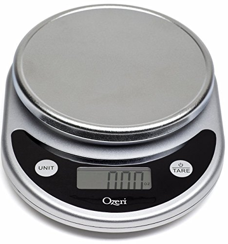 Black Handle Bundle - Ozeri ZK14-S Pronto Digital Multifunction Kitchen and Food Scale, Elegant Black