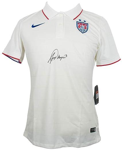 newest cf910 d2d8b Alex Morgan Signed Nike Authentic USA Soccer Jersey Medium ...