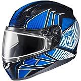 HJC Redline Men's CL-17 Snocross Snowmobile Helmet - MC-2 / Small