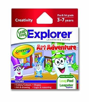 Leapfrog Explorer Learning Game Crayola Art Adventure by LeapFrog