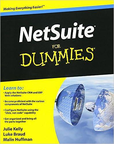 Amazon com: NetSuite For Dummies (9780470191071): Julie