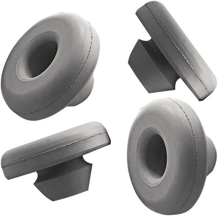 YETI Tundra Replacment Non-Slip Feet Round for Roadie & Tank Models (4-Pack)