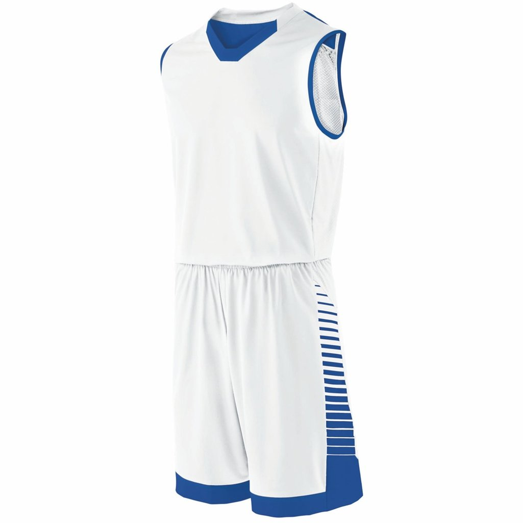 Holloway Youth Arc Short (Large, White/Royal) by Holloway