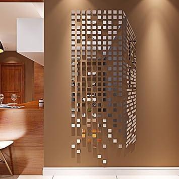 Das Mosaik Acryl 3d Massive Wand Poster Spiegel Einhaltung Der Wohnzimmer  TV Wall Sticker An Der