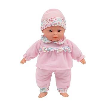 Amazon.es: Mama Mia dulces versos, muñeca parlante con cuerpo suave, 6 Ruidos, 30 cm, de color rosa (Mamatoy MMA01000): Juguetes y juegos