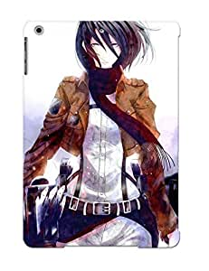 Catenaryoi Tpu Case For Ipad Air With Mikasa Ackerman Attack On Titan, Nice Case For Thanksgiving Day's Gift