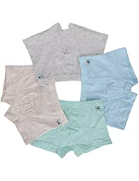 Boys Boxer Briefs of 4 Comfortable Boys Cotton Underwear