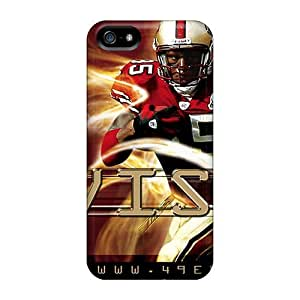 VuaMMjK5792tUSEo AnnetteL Awesome Case Cover Compatible With Iphone 5/5s - Vernon Davis San Francisco 49ers Player wangjiang maoyi