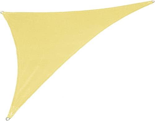 Coolaroo Coolhaven 15ft. x 12ft. x 9ft. Triangle Shade Sail Color Sahara