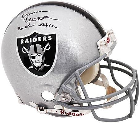 086f62200 Amazon.com   Mounted Memories Oakland Raiders Darren McFadden Autographed  Raider Nation Pro Helmet   Sports Fan Jerseys   Sports   Outdoors