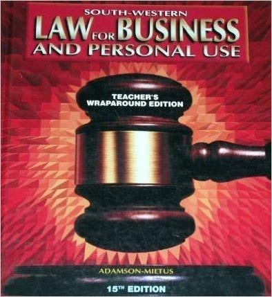 law for business and personal use - 5
