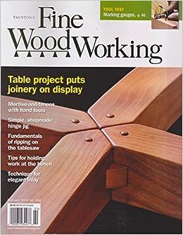 Fine Woodworking Magazine February 2018 Various Amazon Com Books