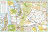 36x52 Washington State Official Executive Laminated Wall Map
