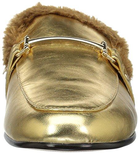 Edelman Danica Mule Women's Leather Metallic Sam Gold wpqOEwd