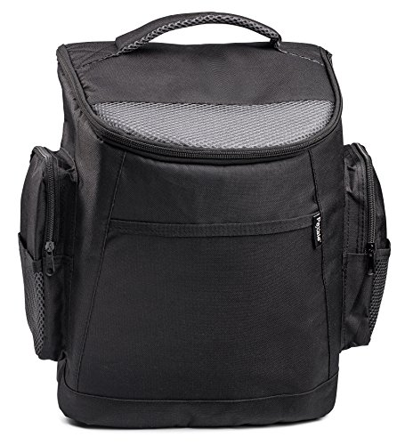 Price comparison product image INSULATED COOLER BACKPACK BY PEXALE(TM)- BLACK