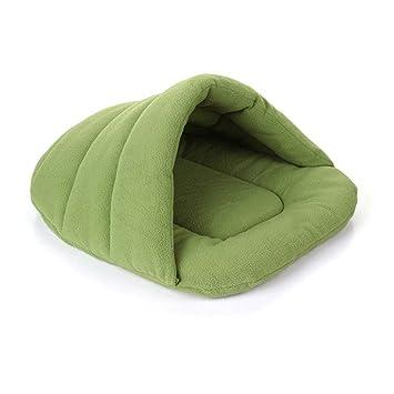 Espeedy Mascota perro gato cama,Otoño invierno mascotas gato perro nido cama suave animal calentamiento cueva casa cachorro caliente perrera bolsa de dormir ...