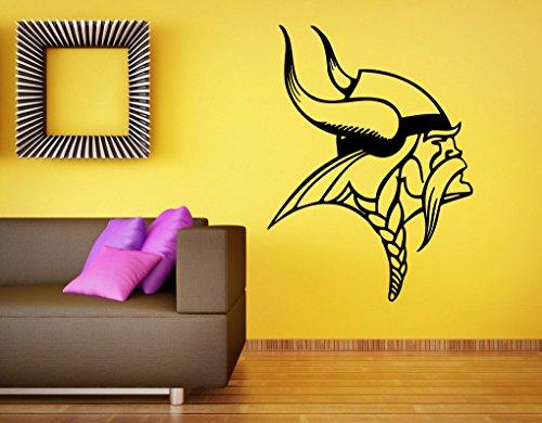 Minnesota Vikings Logo Wall Vinyl Decal NFL Sticker Emblem Football Team Sport Home Interior Removable Decor