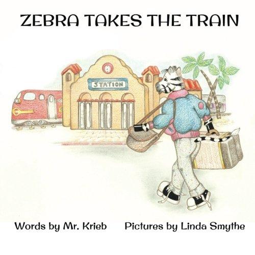 Zebra Takes the Train