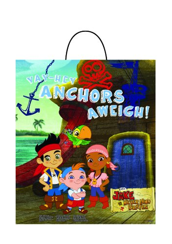 Disguise Disney Junior Jake and The Neverland Pirates Essential Treat Bag, Child]()