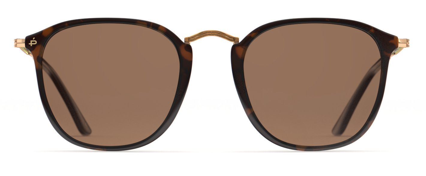 PRIVÉ REVAUX Places We Love Collection''The London'' Polarized Handcrafted Designer Square Sunglasses