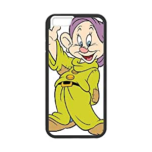 Disney Snow White And The Seven Dwarfs Character Dopey iPhone 6 4.7 Inch Cell Phone Case Black 218y-689567