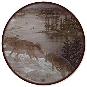 WGI-GALLERY Moon Shadow Lazy Susan, 18""