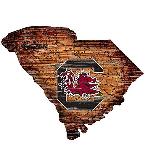 Fan Creations Cutout Sign (State) University of South Carolina, Multi