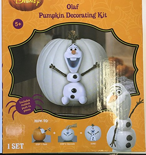 Chick Ideas 80s Costume (Frozen Olaf Pumpkin Decorating Kit Halloween)