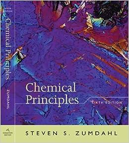 9780618946907: chemical principles steven s zumdahl.