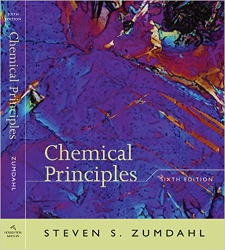 Book Study Guide for Zumdahl's Chemical Principles, 6th Edition 6th edition by Steven S. Zumdahl, Paul B. Keller (2008)
