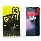 okaccessories Oneplus 6 Mica Cristal Templado, Oneplus 6 Protector Pantalla, 9H+ 3D Vidrio Glass Pantalla [ Unfull Cobertura] [ Anti-Burbujas] Pare Oneplus 6 (Transparente)